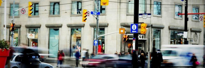 Straßenszene in Toronto: Kames Capital hat vergangenen Juli wieder Zinsrisiko in Kanada aufgenommen|© Pixabay