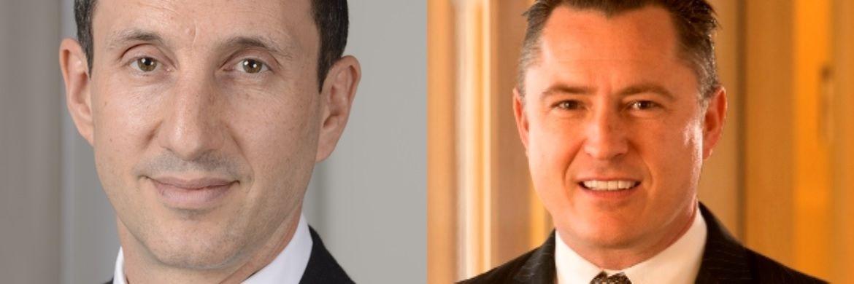 """Matt Oomen, Leiter globaler Vertrieb bei BNY Mellon IM und James Stavena, Fondsmanager des BNY Mellon Dynamic U.S. Equity Fund: """"Unserer Meinung nach gibt es am Markt derzeit nichts Vergleichbares"""""""
