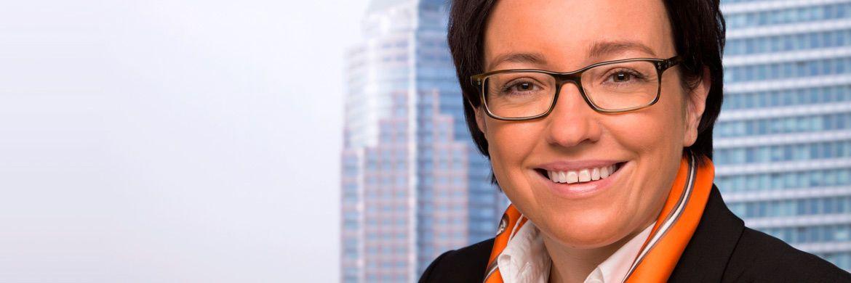Katja Müller zieht in die Geschäftsleitung der Kapitalverwaltungsgesellschaft Universal-Investment ein.|© Universal-Investment