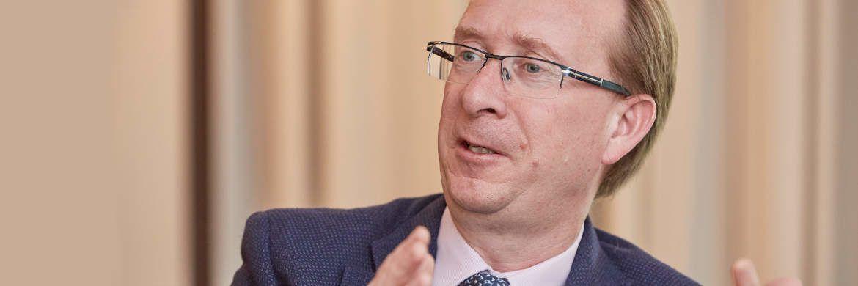 Erklärt die Aufkaufpolitik der Zentralbank: Richard Woolnough ist Anleihespezialist bei M&G und managt unter anderem den M&G Optimal Income.|© Piotr Banczerowski