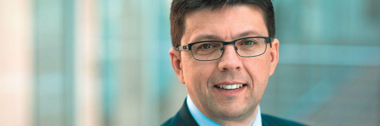 Stefan Kreuzkamp ist zusammen mit Pierre Cherki Co-Leiter im Investmentbereich von Deutsche Asset Management.|© Deutsche AM