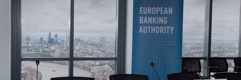 Blick aus dem EBA-Gebäude in London: Im Zuge des Brexit muss der Umzug nach Paris spätestens Ende 2019 erfolgt sein. |© EBA