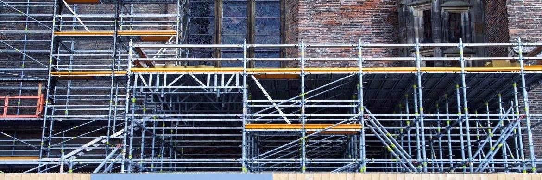 Baugerüst: Verbesserung der Gebäudeeffizienz ist ein Aktionsfeld der neuen Einheit von KGAL.|© Pixa