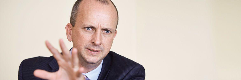 Ulrich Gerhard ist Leiter High Yield bei Insight Investment. Der promovierte Chemiker ist seit 2012 bei der Fondsboutique|© Piotr Banczerowski