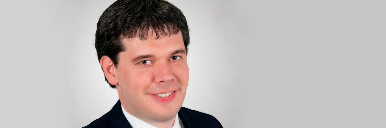Manuel Peiffer von der Vermögensverwaltung GVS Financial Solutions