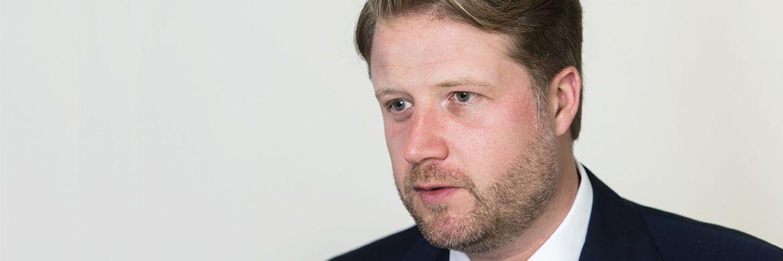 Thilo Wolf leitet seit Juli 2015 das Deutschland-Geschäft von BNY Mellon Investment Management.|© Andreas Mann