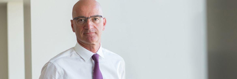 """Joachim Fels, Global Economic Advisor bei Pimco. """"Die Zinsen sind ziemlich genau dort, wo sie entsprechend der 700-Jahre-Trendlinie sein sollten."""""""