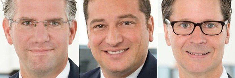 Jasper Düx, Tindaro Siragusano und Thimo Koch (v.l.n.r.): Zusammen mit vier weiteren Partnern haben die drei Ex-Berenberg-Banker eine neue Investmentboutique in Hamburg gegründet.|© 7 Orca Asset Management