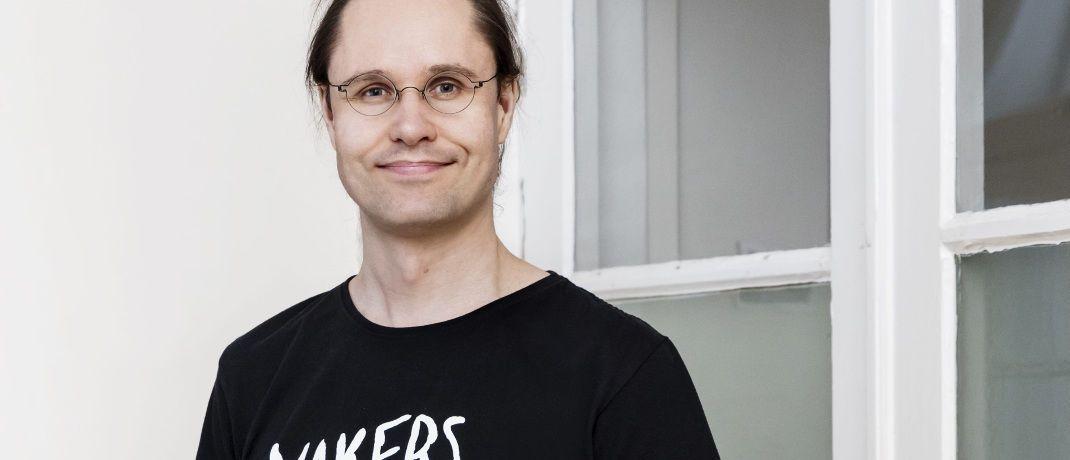 Tuomas Toivonen: Der Fintech-Chef sieht Vorteile bei Kooperationen zwischen Start-ups und der traditionellen Finanzbranche.|© Holvi