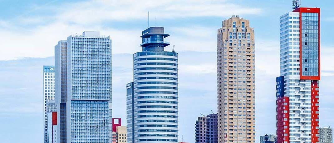 Bürotower in Rotterdam: in den Niederlanden können sich Investititonen noch lohnen