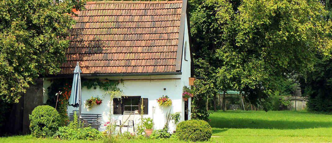 Häuschen: Läuft die Erstfinanzierung aus, lohnt es sich umzuschulden.|© Pixabay