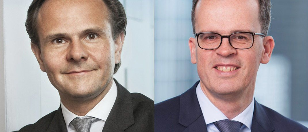 Frank Engels (r.) folgt in der Position des Leiters Portfoliomanagement bei Union Investment auf Björn Jesch. | © Union Investment