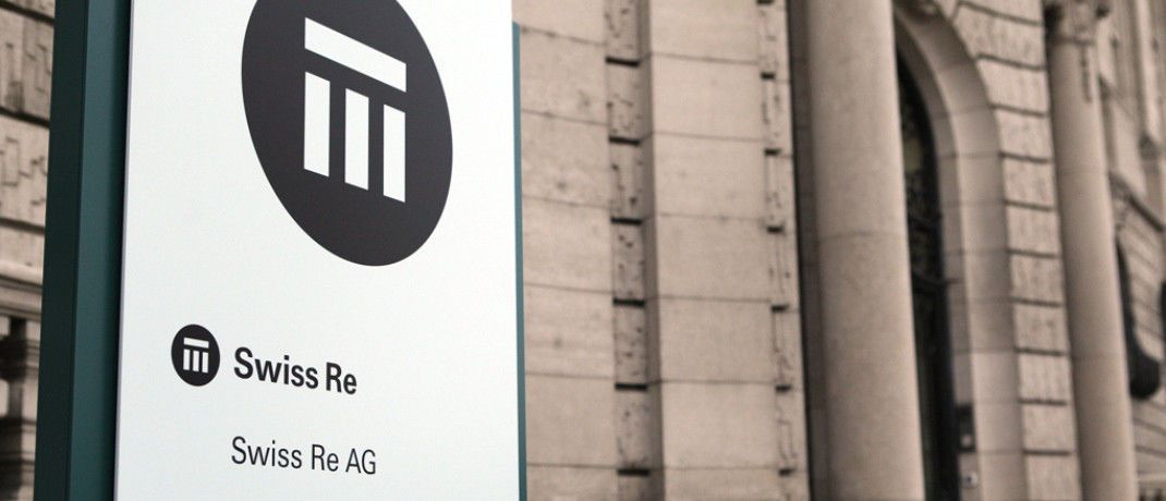 Gebäude der Swiss Re in Zürich: Der Rückversicherer übernimmt Lebensversicherungen von Legal & General.|© Swiss Re