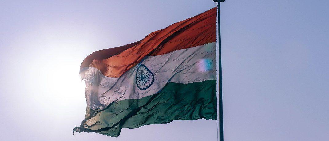Indische Flagge: Der Aktienmarkt des Subkontinents erfreut sich regen Zuspruchs.|© Pexels