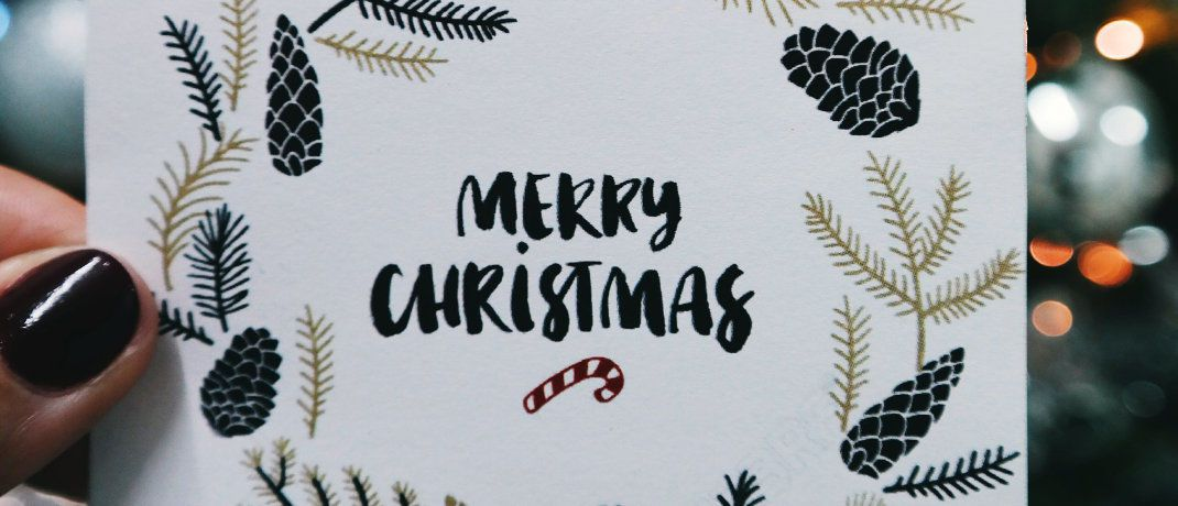 Weihnachtskarte: Aus Compliance-Sicht müssten hier wohl eigentlich sehr strenge Regeln angelegt werden.|© Brigitte Tohm