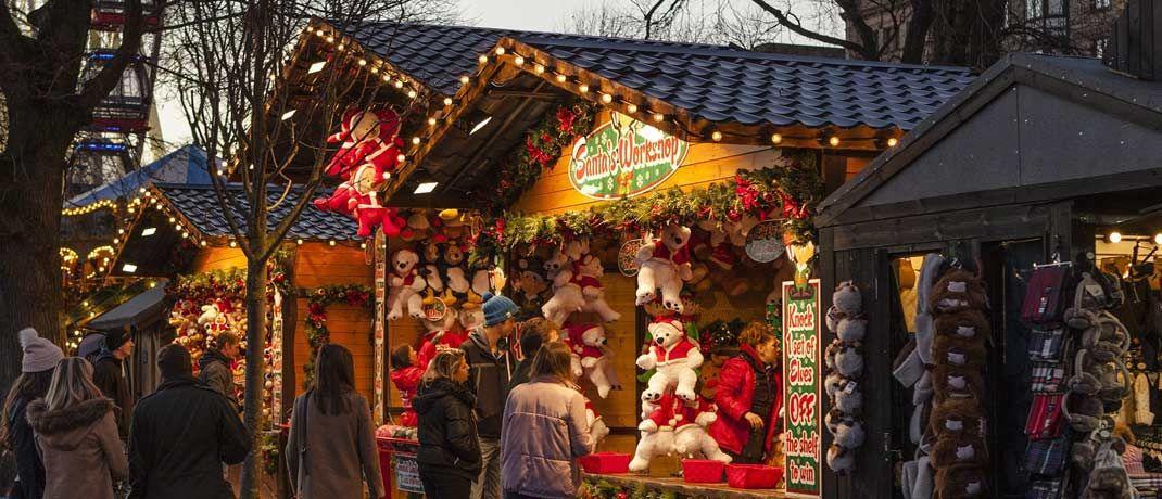 Mit den Kollegen ein gemütliche Runde über den Weihnachtsmarkt: Bei Investmentbanken, vor allem in London, ging es Anfang des Jahrtausends auf der weihnachtlichen Firmenfeier hoch her.|© Pixabay