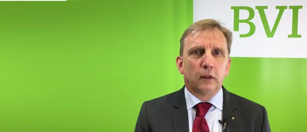Rudsolf Siebel: Der BVI-Geschäftsführer erklärt die Funktion des LEI.|© Youtube/BVI