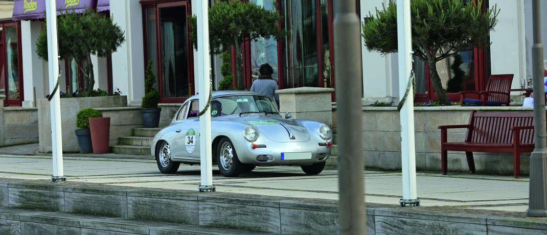 Jörn Rompel mit seinem Porsche bei der OCC-Küsten-Trophy 2017.|© Jörn Rompel