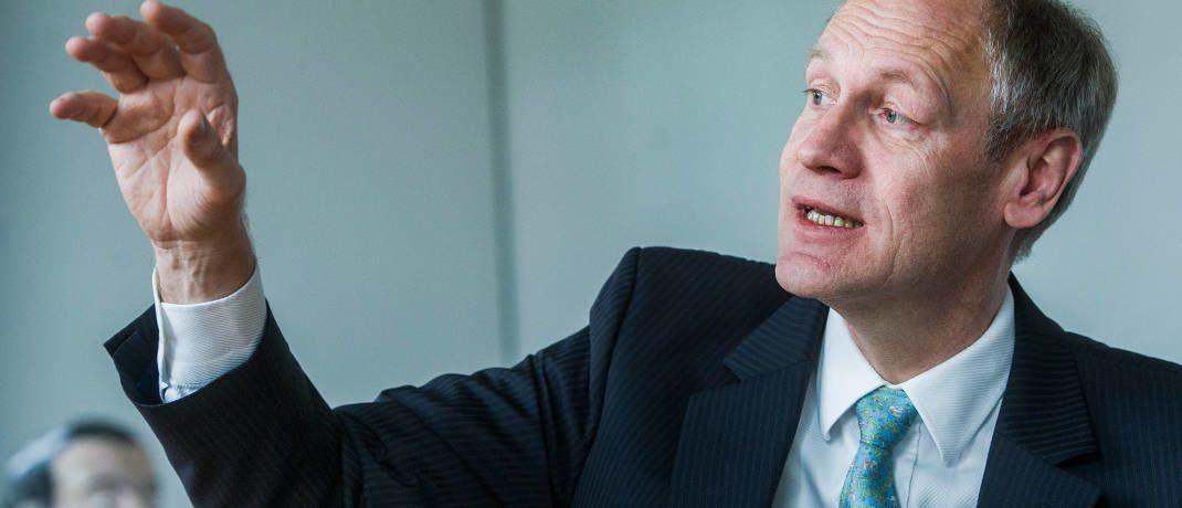 Acatis-Gründer und -Chef Hendrik Leber hatte Bitcoin eigentlich zum Schutz gekauft, fuhr nun damit aber kräftige Gewinne ein.|© Acatis