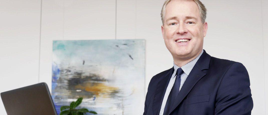 Carsten Baukus: Vor seinem Wechsel zu Greiff Capital Management war der 45-Jährige für Aberdeen Standard Investments, Arthur Andersen, Ernst & Young, Multi-Invest und Standard Life Deutschland tätig.|© Greiff Capital Management AG