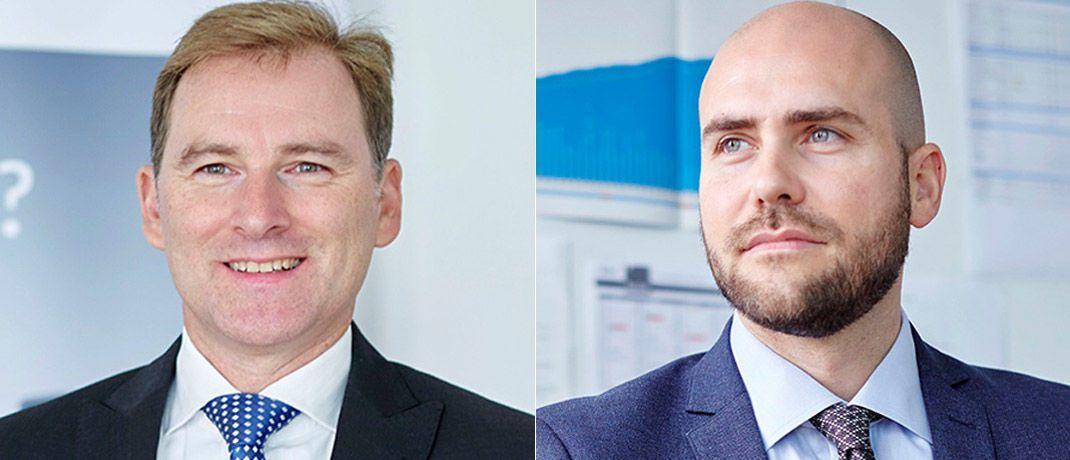Udo Wedler (l.) und Robert Habatsch sitzen seit Jahresanfang im Vorstand von Greiff Capital Management.|© Greiff Capital Management