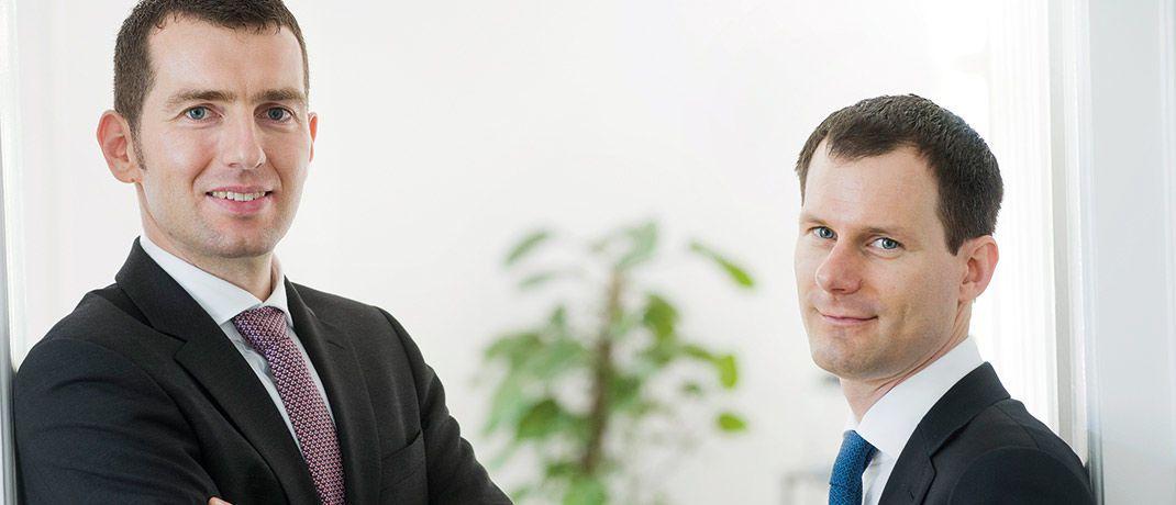 Uwe Rathausky (links) und Henrik Muhle managen den Acatis Gané Value Event Fonds UI.