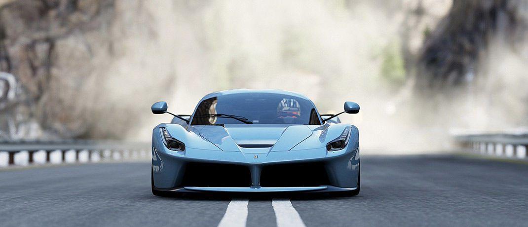 Ferrari 458 Speciale: Der italienische Luxusautohersteller ist im Portfolio des Aktien Südeuropa UI.
