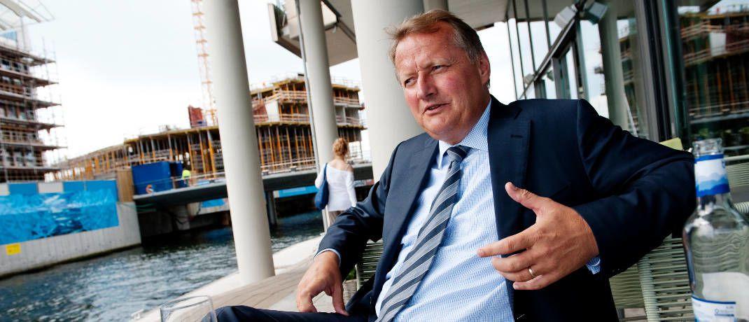 Rune Bjerke: Der Vorstandsvorsitzende der DNB ASA kann sich nach dem juristischen Sieg zurücklehnen.|© Stig B. Fiksdal, DnB NOR