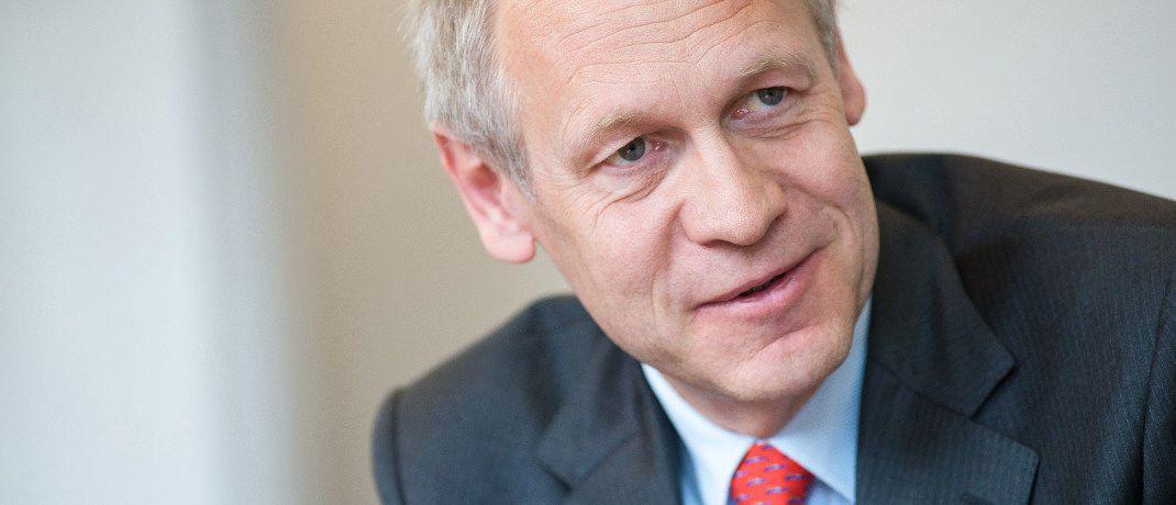 Hendrik Leber: Der Geschäftsführer bei Acatis Investment in Frankfurt setzt auf Bitcoin-Investments.|© Acatis Investment