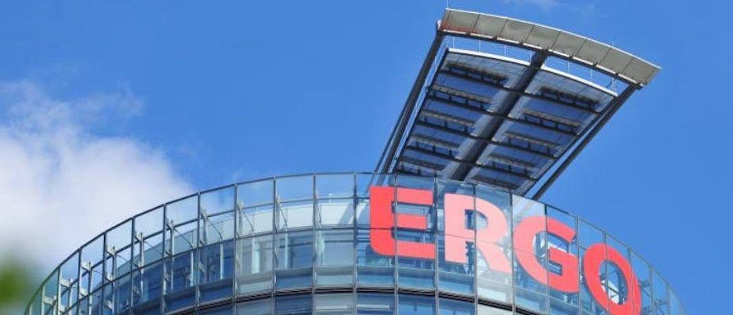 Zentrale der Ergo Versicherungsgruppe in Düsseldorf: Der Konzern hat sich scheinbar von seinem Vertriebsvorstand getrennt.|© Ergo