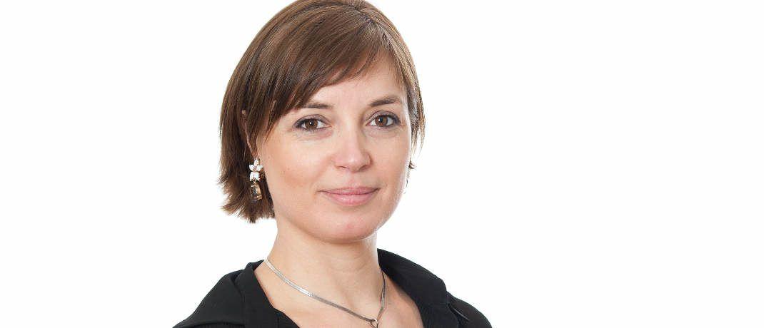 Ophélie Mortier ist bei Degroof Petercam als Strategin für nachhaltige Anlagen verantwortlich.|© Degroof Petercam