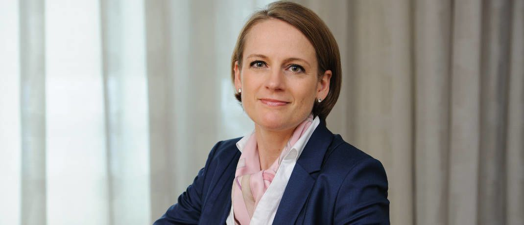 Sonja Laud ist heute Leiterin Aktien bei Fidelity International|© Fidelity International