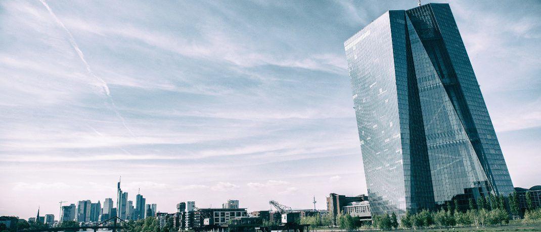 EZB-Zentrale in Frankfurt: Marktteilnehmer haben Angst vor Geldpolitik ohne Wirtschaftsstütze. |© Pexels
