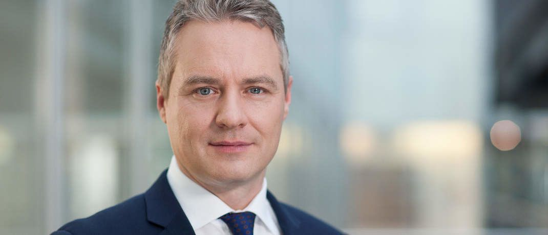 Roger Bootz, Leiter öffentlicher Vertrieb Passive Investments der Deutschen AM