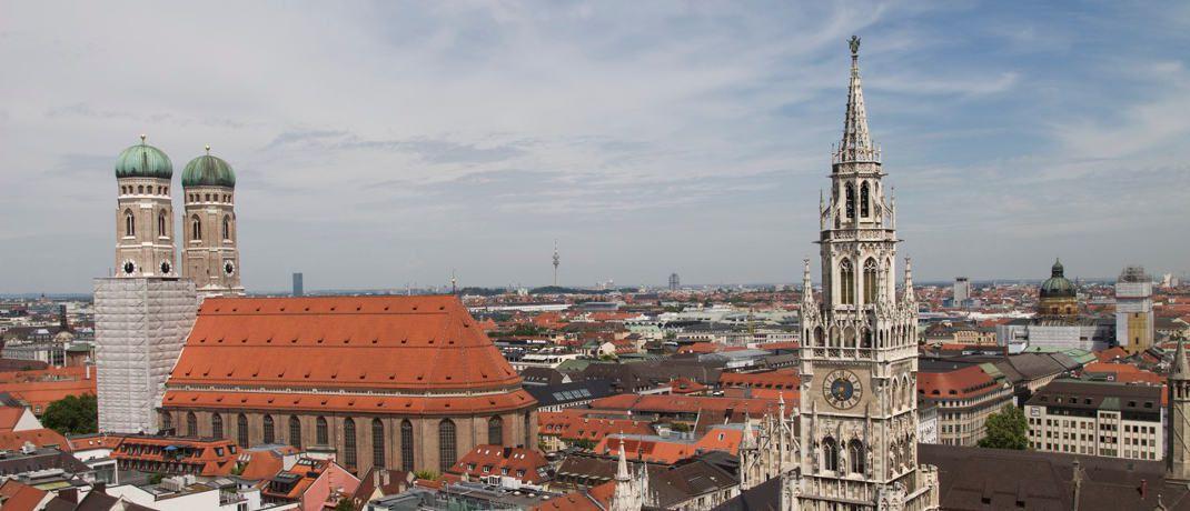 Blick über München: Blackrock verlegt seine deutschen ETFs von München nach Irland.|© Pexels