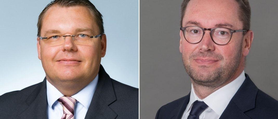 Boris Strucken und Sven Loeckel von Fidelity Information Services: Die beiden Banking-Experten geben einen Überblick über die neue Welt nach PSD II.|© FIS Deutschland