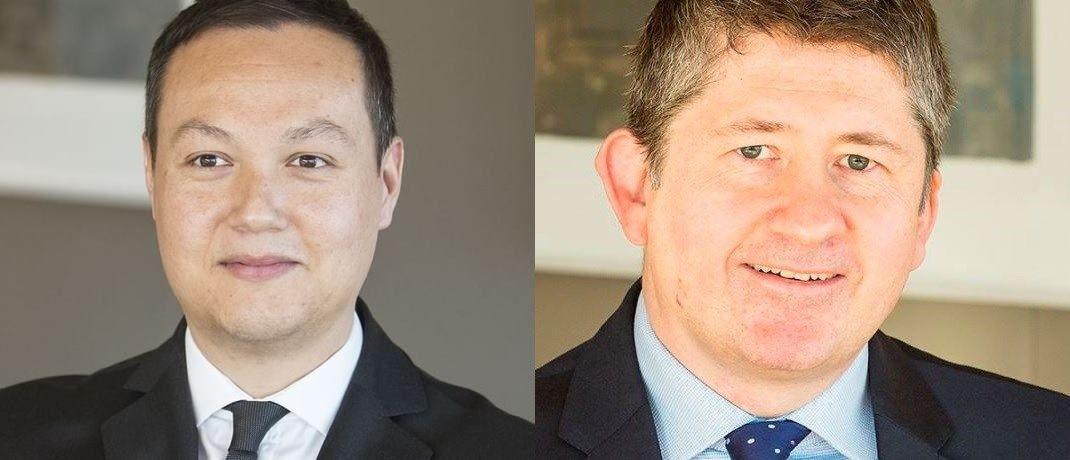 """Thiemo Volkholz und Jeremy Cunningham von Capital Group: """"Die Erweiterung unseres Produktangebots für Kunden aus aller Welt ist uns sehr wichtig."""""""