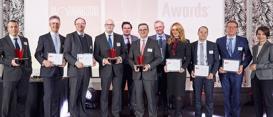 Gruppenfoto aller Gewinner der Morningstar Awards 2018 | © Piotr Banczerowski / Morningstar