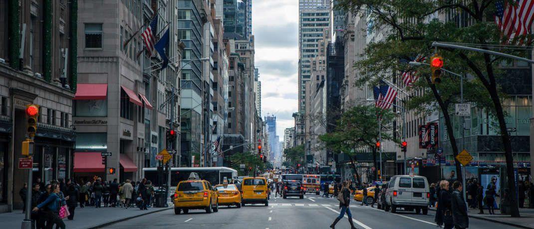 Straßenschlucht in New York: Ein zunehmender Protektionismus wird Experten zufolge auch US-Verbrauchern schaden.|© Pexels