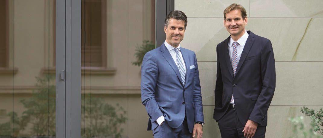Die beiden Portfoliomanager und Mitgründer von Chom Capital: Christoph Benner (links) und Oliver Schnatz.|© Chom Capital