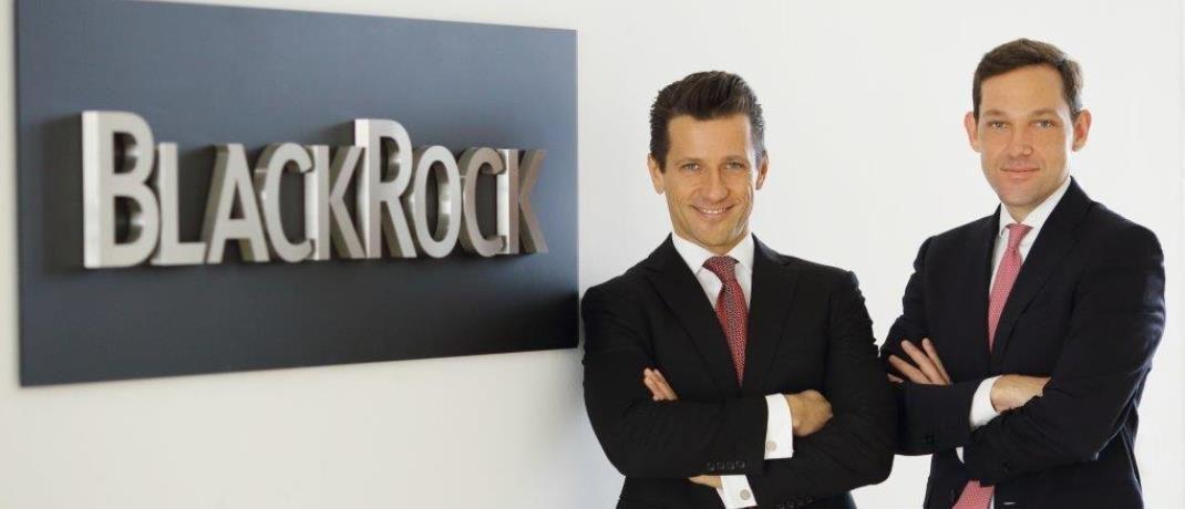 Peter Reichel (li.) und Philipp Brugger von BlackRock