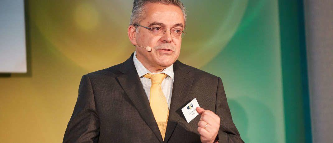 Juan Nevado ist bei M&G für Mischfonds zuständig|© Piotr Banczerowski