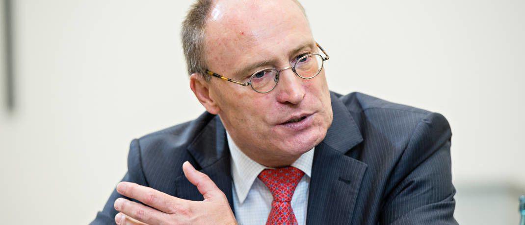 Manfred Schlumberger ist Vorstandsmitglied und Co-Leiter Portfoliomanagement bei Starcapital|© Team Uwe Nölke