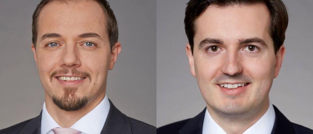 Neu bei UBS Asset Management: Jan Schneider (l.) und Henning Kahre