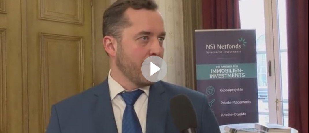 NFS-Netfonds-Geschäftsführer Christian Hammer im Video-Interview: