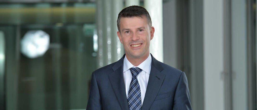 Jan Sobotta ist Vertriebschef fürs Ausland bei Swisscanto © Swisscanto