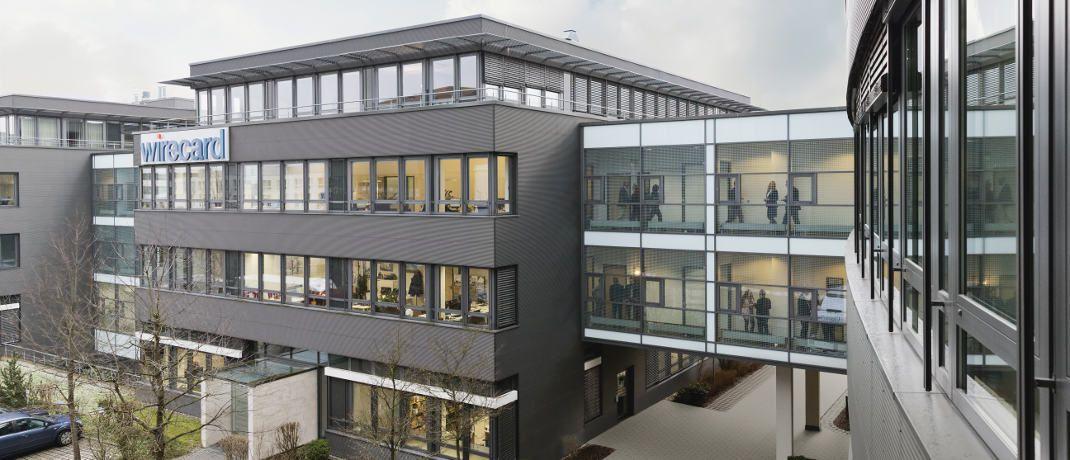 Hauptsitz von Wirecard in Aschheim bei München: Der internationale Anbieter für Zahlungs- und Risikomanagementlösungen ist mit einem Anteil von rund 6,5 Prozent aktuell der größte Einzeltitel im Fondsportfolio des Enrak Wachstum und Dividende global.|© Wirecard AG
