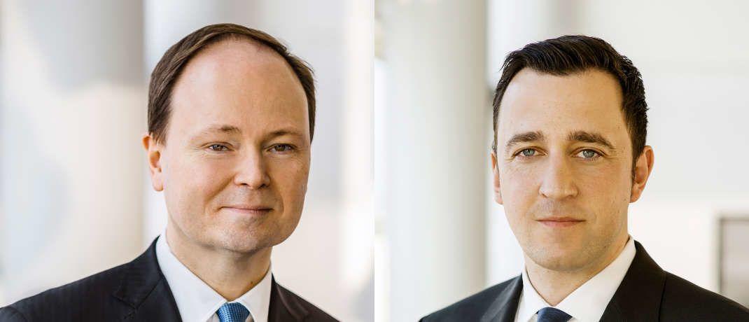 Marc-Alexander Knieß (links) und Stefan Schauer managen den Lupus Alpha Sustainable Convertible Bonds © Lupus Alpha