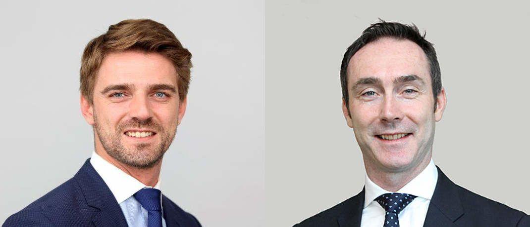 Aymeric François (links) und Maik Fechner betreuen seit 2015 für Investec den deutschen Markt|© Investec