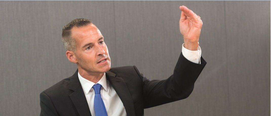 Tim Albrecht: Der Leiter DACH Aktien bei Deutsche Asset Management stuft deutsche Aktien auf Übergewichten hoch.|© Andreas Mann